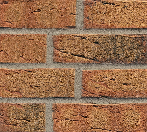 Rustic Golden Multi 684 Brick Slips