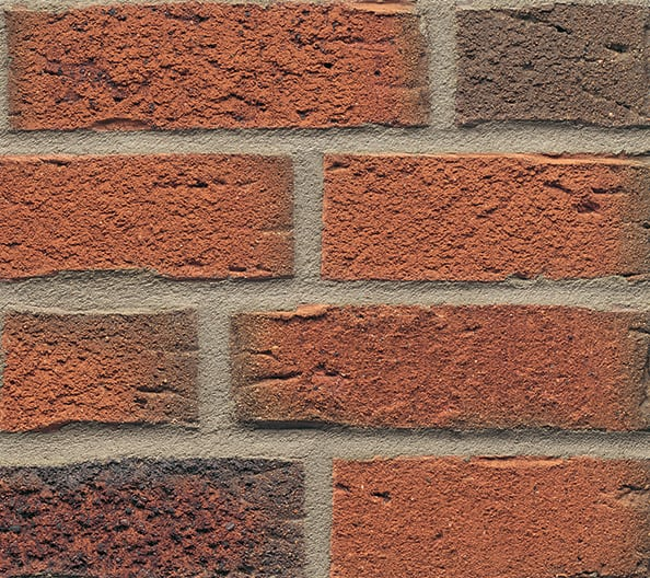 Rustic Orange Multi 687 Brick Slips