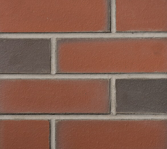 Smooth Red Multi 303 Brick Slips