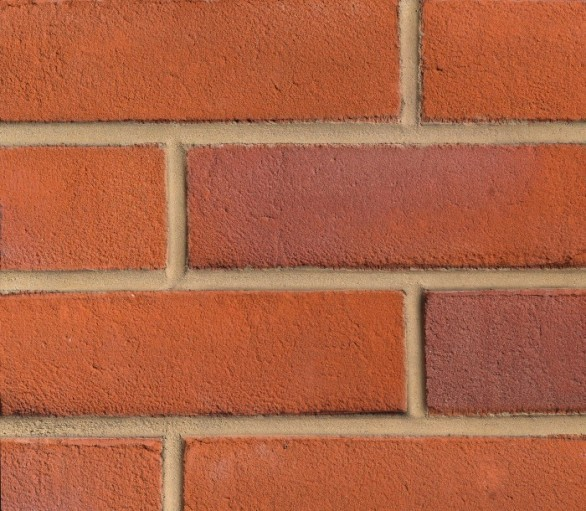 EBS Sanded Red Stock Brick Slips