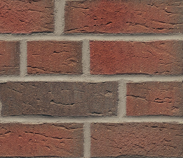 Rustic Red Multi 689 Brick slips