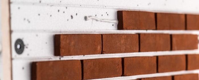 brick faced external wall insulation