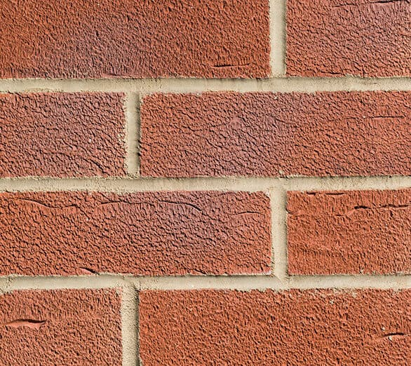Red Blue Flamed 7427 Brick Slips