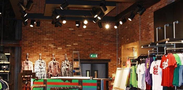 SuperGroup Retail Interiors