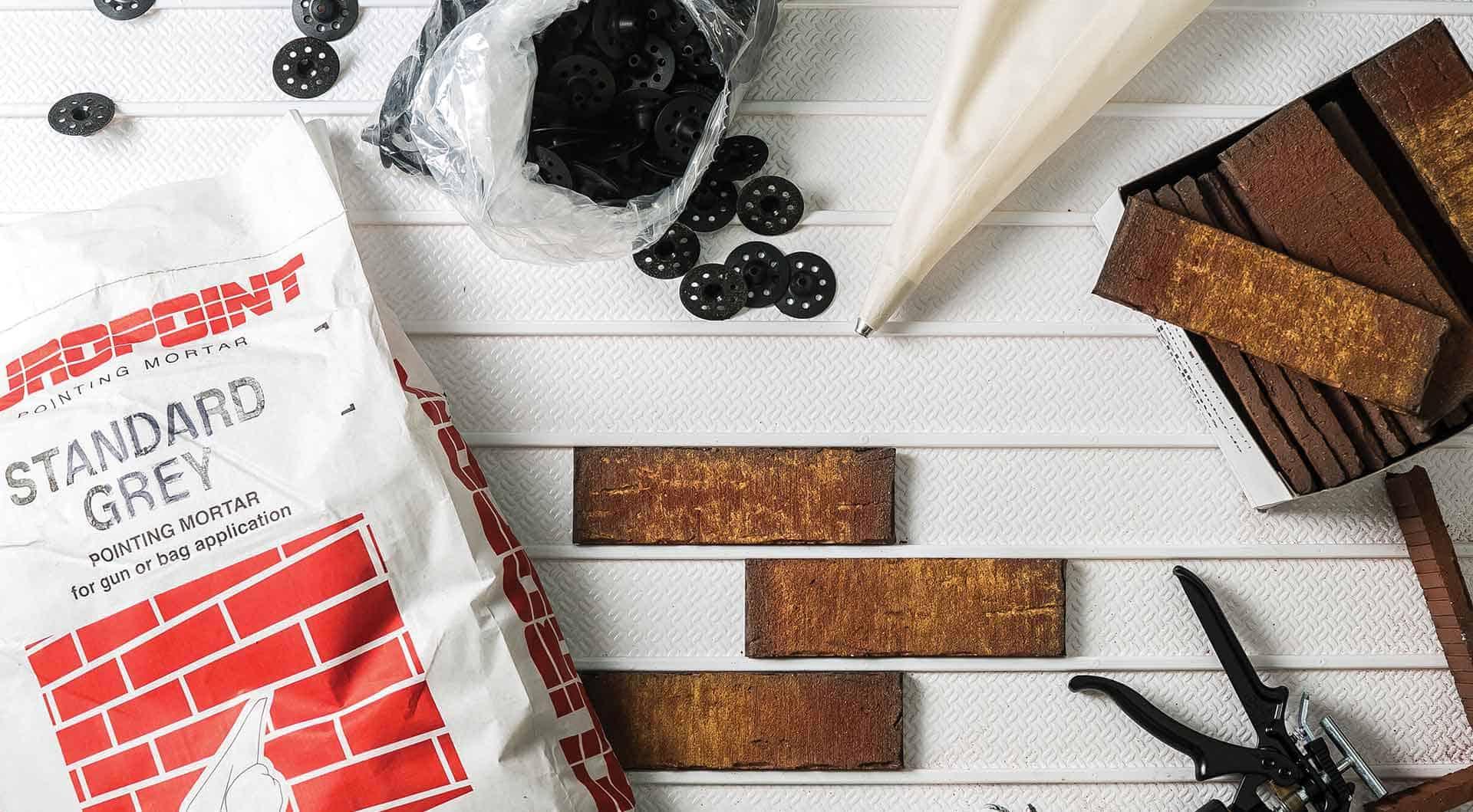 Brick Slip accessories and Cladding accessories