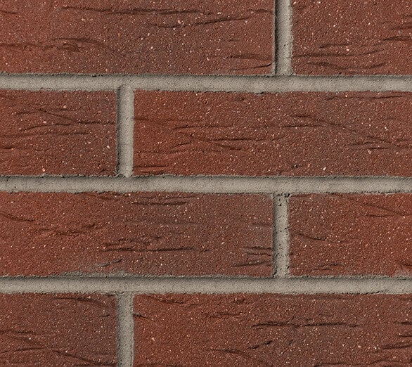 Red Multi 335 Brick Slips