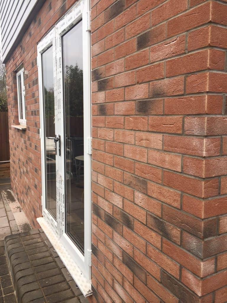 Diy Brick Slip Cladding Project Transforms Home