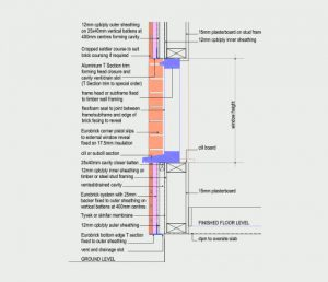 Cavity Formation - Head & Cill Detail