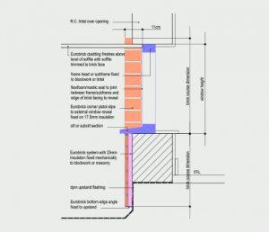 Soffite/Upstand Detail
